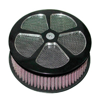 HardDrive Parts Classic 5 Spoke Air Cleaner Black