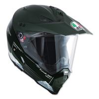 AGV AX-8 Dual Evo Wild Frontier Green Full Face Helmet