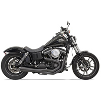 Bassani Road Rage II 2 into 1 Exhaust Black