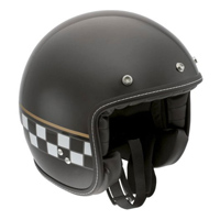 AGV RP60 Cafe Racer Black Open Face Helmet