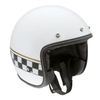 AGV RP60 Cafe Racer White Open Face Helmet