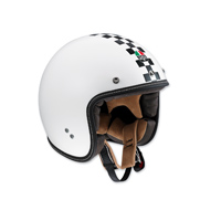 AGV RP60 Checker Flag Open Face Helmet