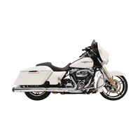 Bassani 2 into 1 Crossover Eliminator Chrome Straight Can Slip On