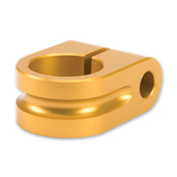 Rooke Gold Milled 7/8″ Mirror Mount