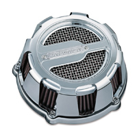 Crusher ECE Compliant Maverick Air Cleaner Chrome