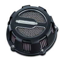 Crusher ECE Compliant Maverick Air Cleaner Satin Black