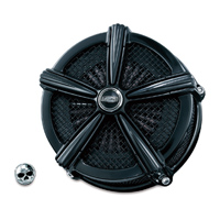 Crusher ECE Compliant Mach 2 Air Cleaner Gloss Black