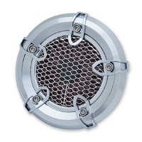 Crusher Revolt Air Cleaner Chrome