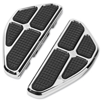 Roland Sands Design Chrome Boss Passenger Floorboards