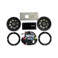 Klock Werks 6-1/2&quot Audio Fit Kits Powered by KICKER