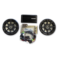 Klock Werks 5-1/4″ Audio Fit Kits Powered by KICKER for Tour-Pak