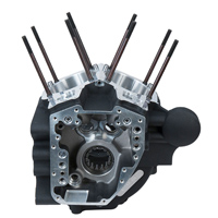 S&S Cycle Wrinkle Black T-Series Crankcase