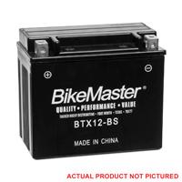 BikeMaster Maintenance Free Battery