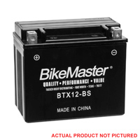 BikeMaster Maintenance Free Battery