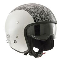 AGV Diesel Hi-Jack Grey/Digit Open Face Helmet