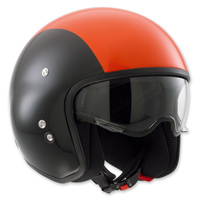 AGV Diesel Hi-Jack Black/Orange Open Face Helmet