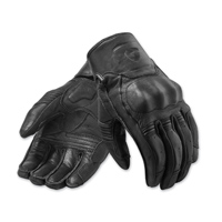 REV′IT! Men's Palmer Black Leather Gloves