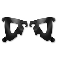 Memphis Shades Road Warrior Fairing Black Mounting Plates Only