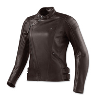 REV′IT! Women's Bellecour Brown Leather Jacket