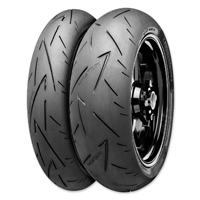 Continental Sport Attack 2 Hypersport Radial 160/60ZR17 Rear Tire