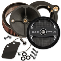 S&S Cycle Stealth Air Cleaner Kit Black Air 1 Cover
