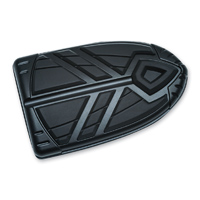Kuryakyn Satin Black Spear Brake Pedal Pad