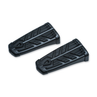 Kuryakyn Satin Black Spear Footpegs without Adapter