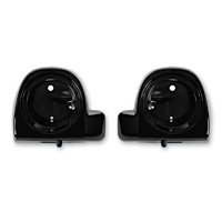 HogWorkz 6-1/2″ Vented Vivid Black Lower Fairing Speaker Pods