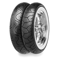 Continental Milestone Mileage Plus 130/80B17 Wide Whitewall Front Tire