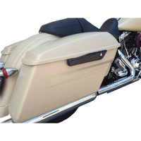 Alloy Art Black Lighted Saddlebag Latches