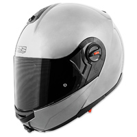 Speed and Strength SS1700 Solid Speed Silver Helmet