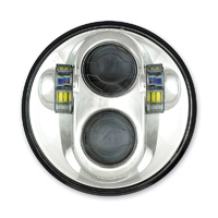 Cyron 5-3/4″ LED Chrome Headlight