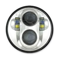 Cyron 5-3/4″ LED Chrome Headlight