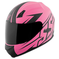 Speed and Strength SS700 Hamer Down Matte Pink Full Face Helmet