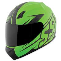 Speed and Strength SS700 Hammer Down Matte Green Full Face Helmet