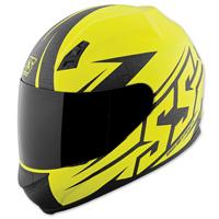 Speed and Strength SS700 Hammer Down Matte Hi-Viz Helmet