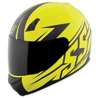 Speed and Strength SS700 Hammer Down Matte Hi-Viz Helmet