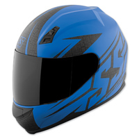 Speed and Strength SS700 Hammer Down Matte Blue Full Face Helmet
