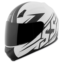 Speed and Strength SS700 Hammer Down Matte White Helmet