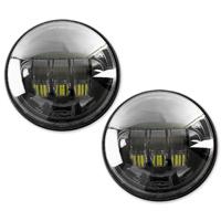 Cyron 4-1/2″ LED Black Passing Lamps