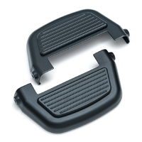 Kuryakyn Black Finned Passenger Floorboard Covers