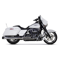 Two Brothers Racing Comp-S 2-1 Full System Exhaust Chrome with Aluminum End Cap