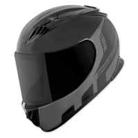 Speed and Strength SS3000 Light Speed Black/Gray Full Face Helmet