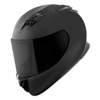 Speed and Strength SS3000 Solid Speed Matte Black Full Face Helmet