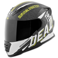 Speed and Strength SS1310 The Quick and The Dead Black/Hi-Viz Full Face Helmet