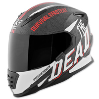 Speed and Strength SS1310 The Quick and The Dead Black/Red Full Face Helmet