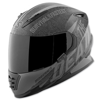 Speed and Strength SS1310 The Quick and The Dead Black/Grey Full Face Helmet