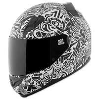 Speed and Strength SS1200 United By Speed White Full Face Helmet