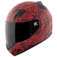 Speed and Strength SS1200 United By Speed Red Full Face Helmet