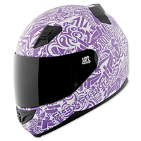 Speed and Strength SS1200 United By Speed Purple Full Face Helmet